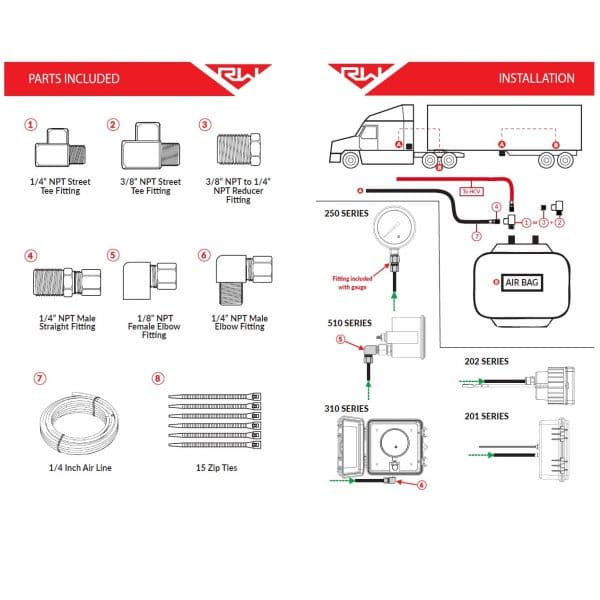 101-SK Product installation diagram
